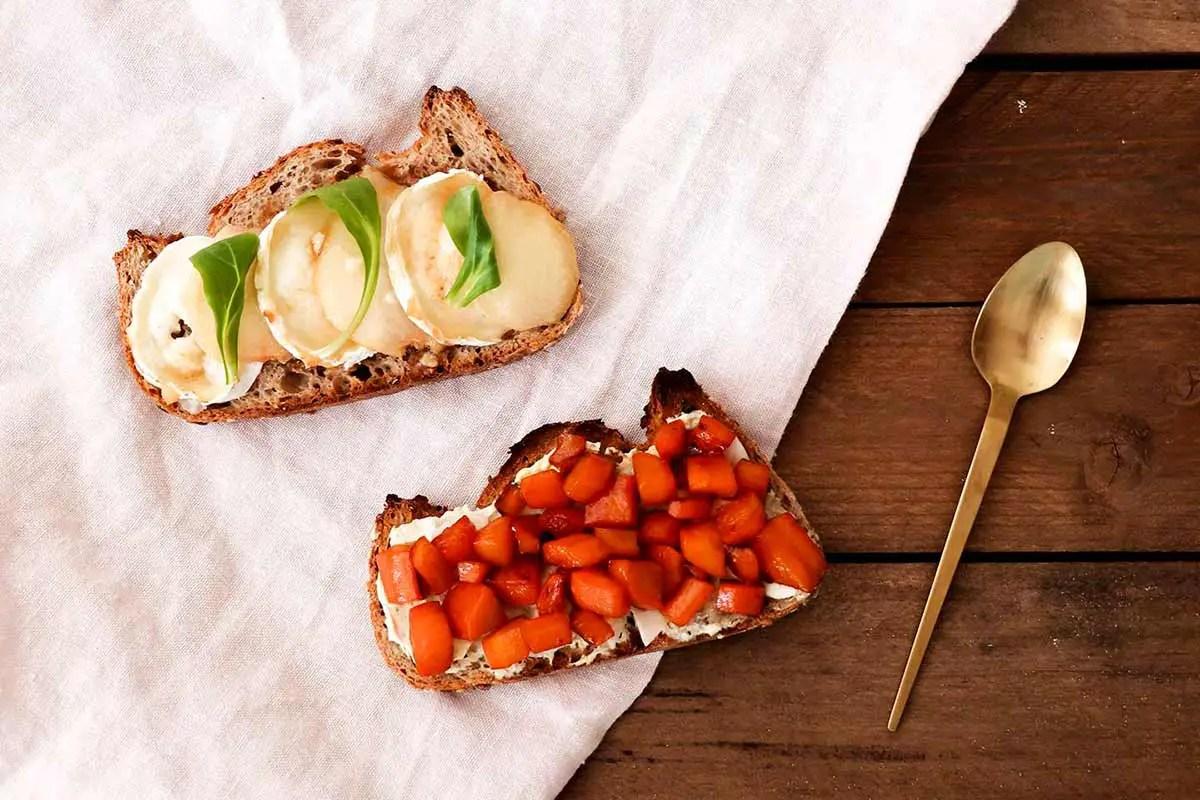 Tartine au four : 2 recettes pour l'hiver !