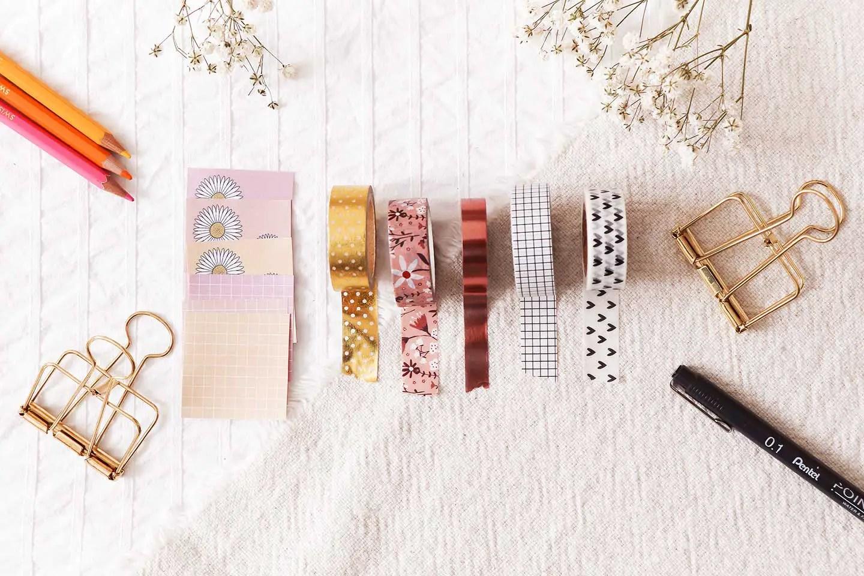 Masking tape et printables