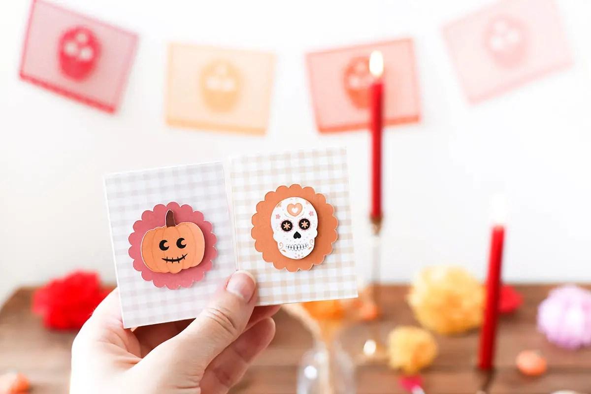 Décoration Halloween faite maison façon «Día de los muertos»
