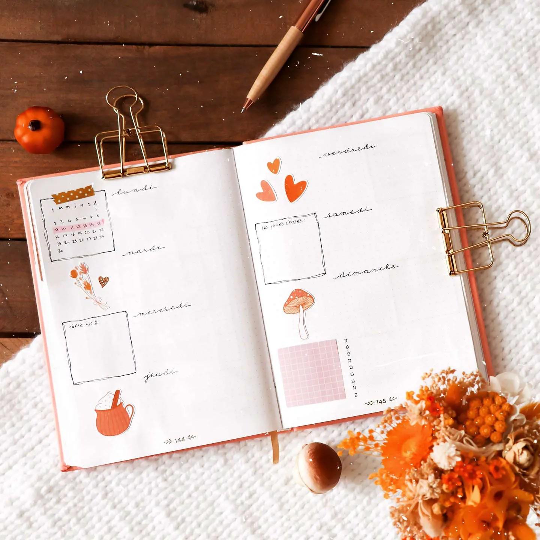 Weekly spread novembre