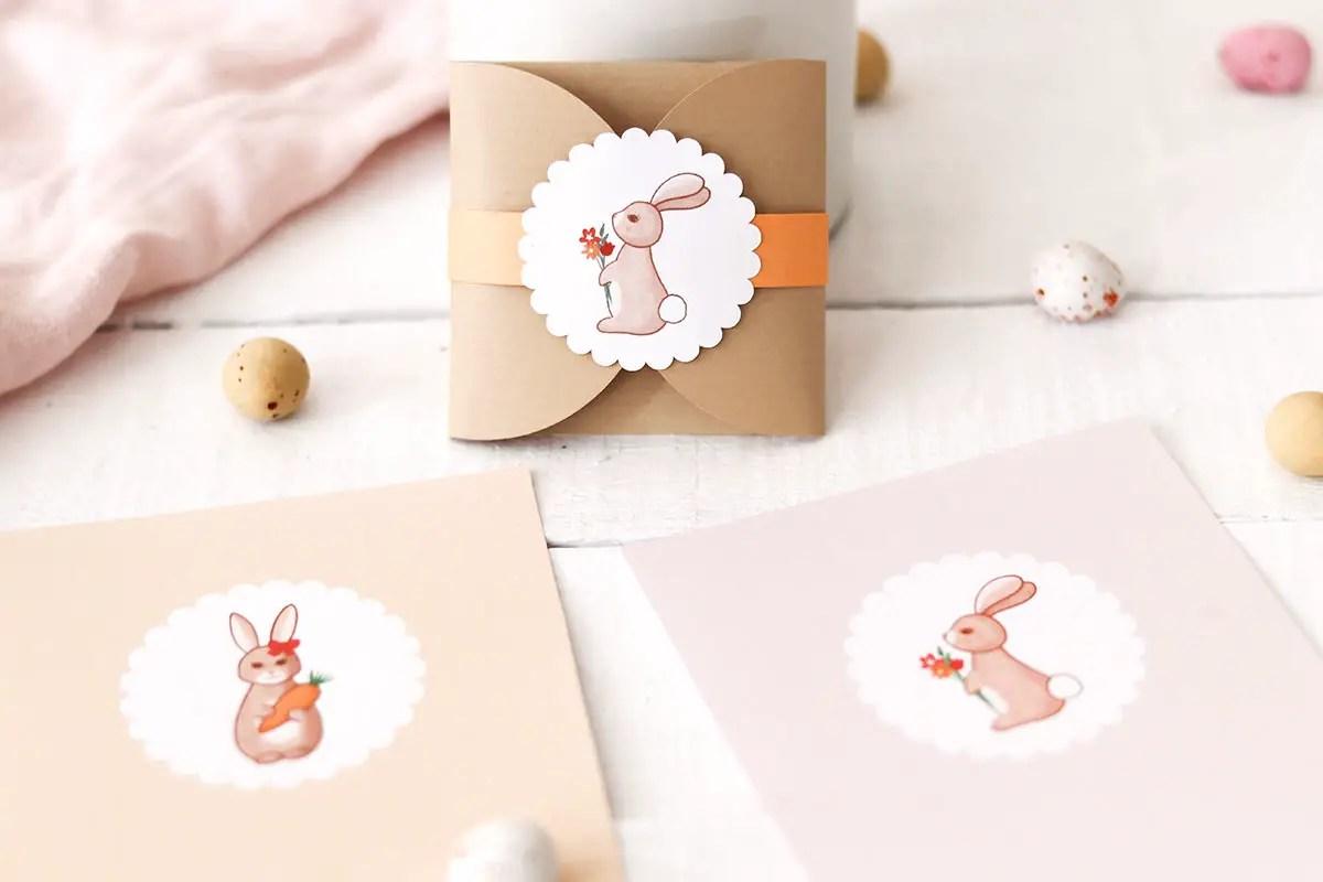 Tuto sachet à biscuits pour Pâques + des cartes à imprimer