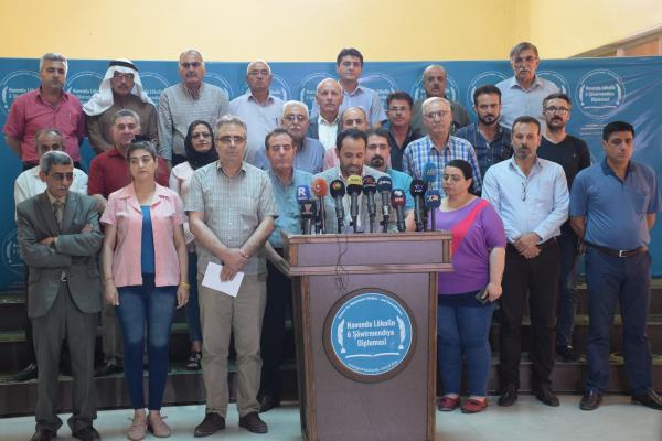 Political parties: The Turkish occupation targets all democratic powers