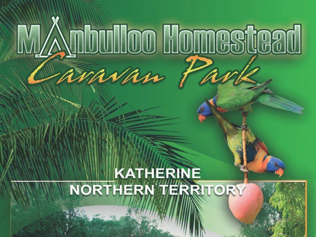 Manbulloo Homestead Caravan Park pamphlet
