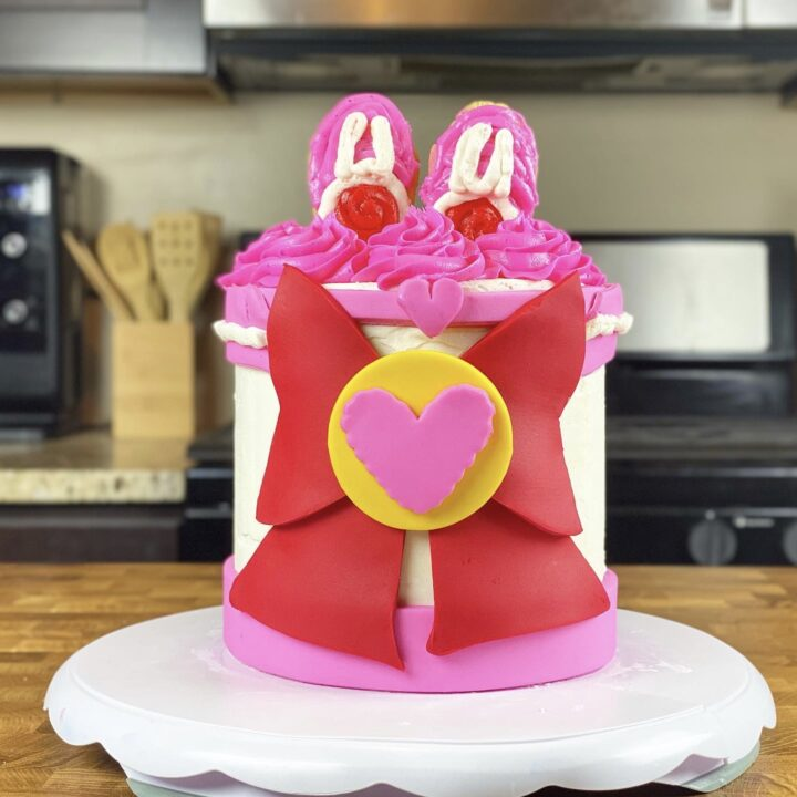 Sailor Chibi Moon Cake