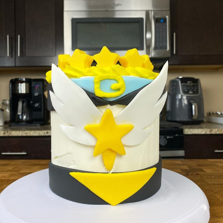 Sailor Star Fighter Cake