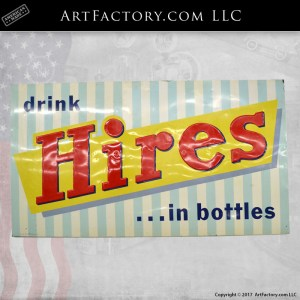 drink Hires Root Beer sign