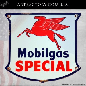 Mobilgas Special Pegasus Sign