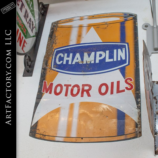 Champlin motor oil sign