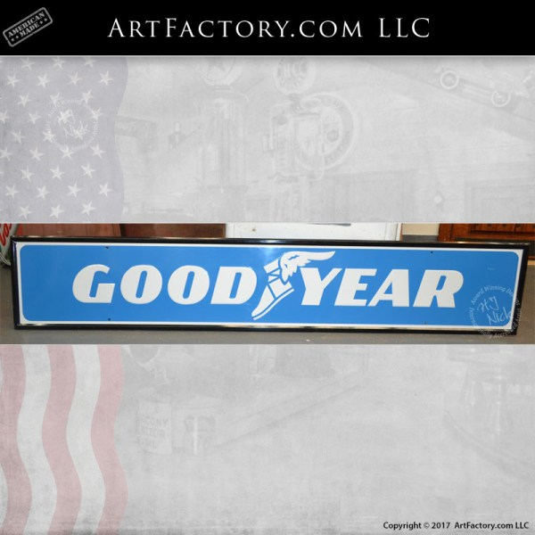 vintage Goodyear Tires sign