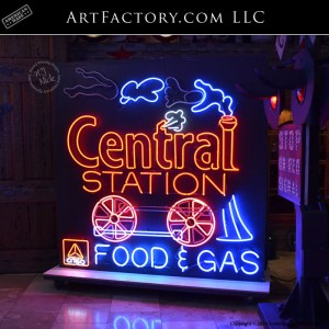 Citgo Central Station Sign