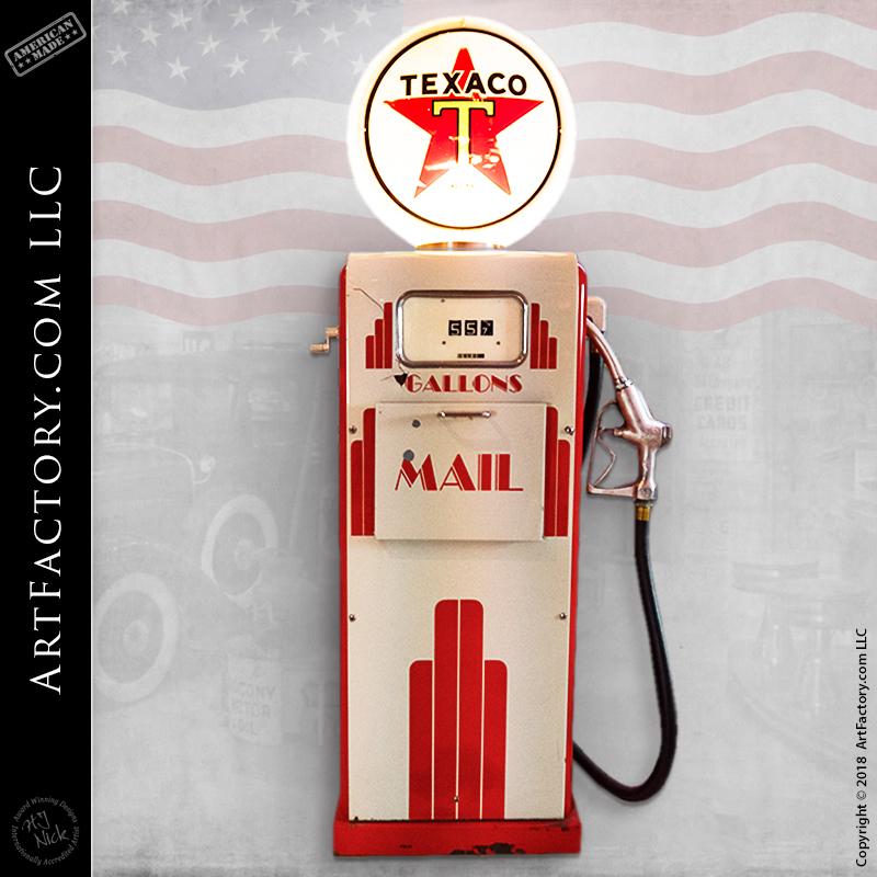 Texaco Gasboy Mailbox Pump