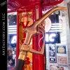 restored vintage gas pump