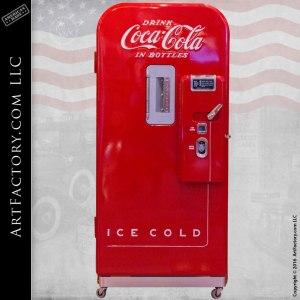 Vendo 39 Coke Machine Vintage Coca-Cola