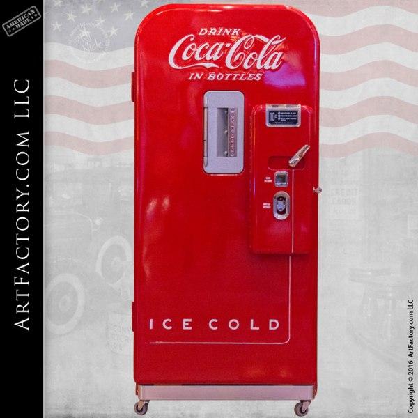 Vendo 39 Coke Machine: Rare Vintage Coca-Cola Vending