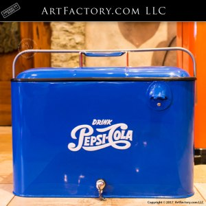 Vintage Pepsi-Cola Drink Cooler
