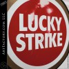 Vintage Lucky Strike Cigarette Standing Sign