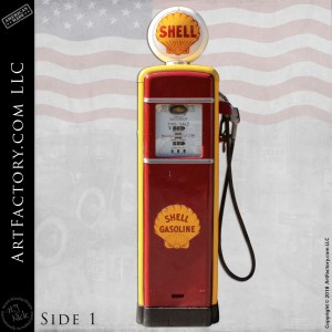 Vintage Shell Fuel Gas Pump
