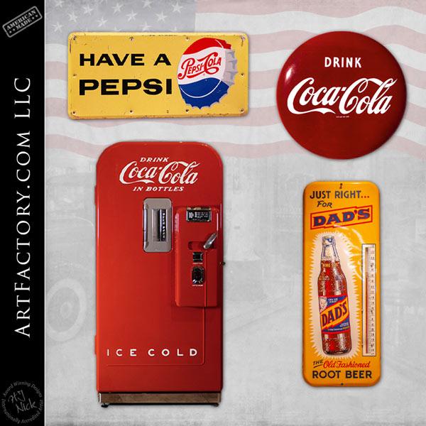 vintage soda collectibles