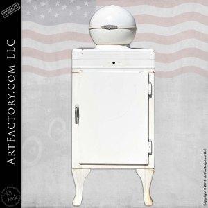 Vintage GE Globe Top Monitor Refrigerator