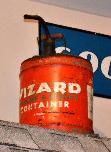 Wizard Gas Can - Genuine Americana - WGC37