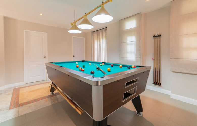 best pool cue racks