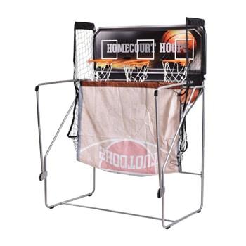 giantex 3 hoop indoor arcade basketball review-foldaway
