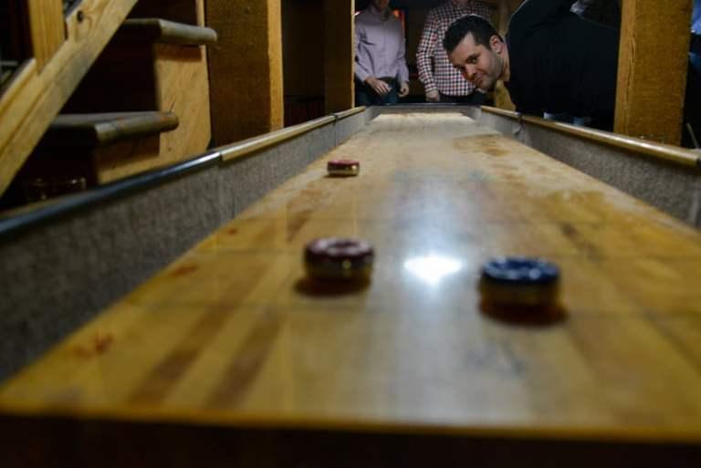 Table Shuffleboard tips
