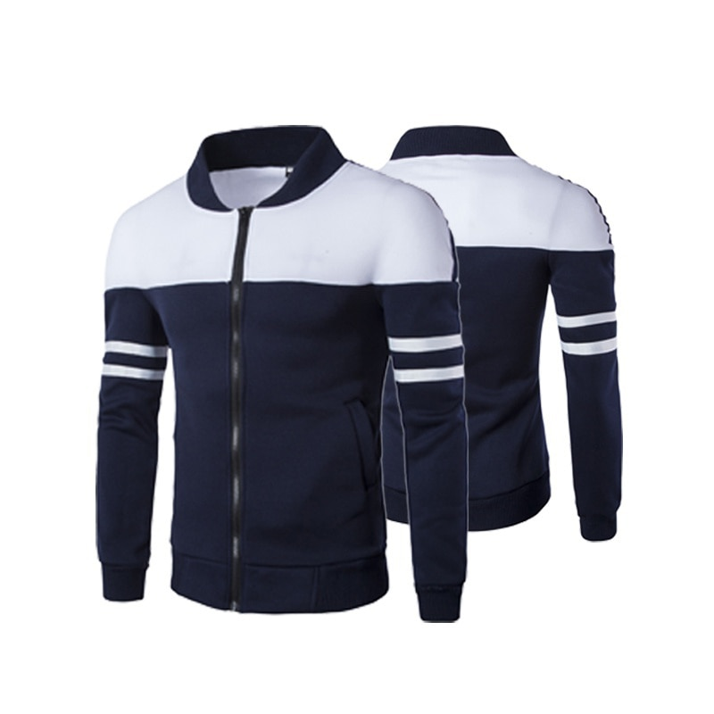 Men S Jacket Street Wear Casual Preppy Style Mancavestyle