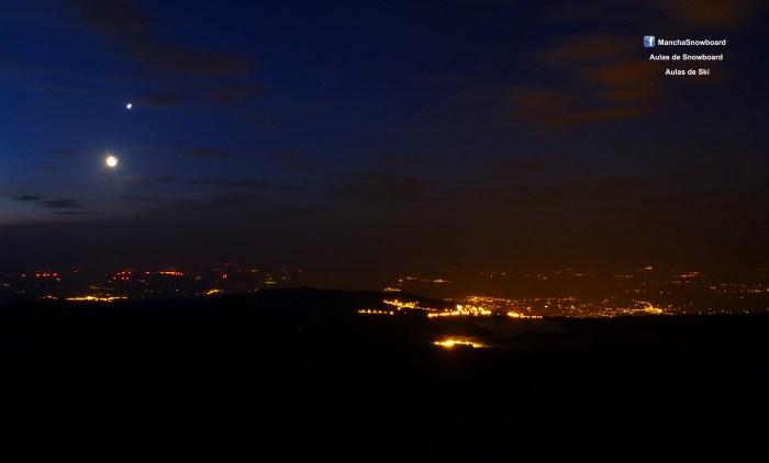 solsticio serra da estrela portugal visitportugal nascer da lua do sol moorise sunrise viriato