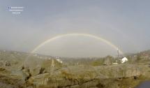 arco iris rainbow mancha instrutor penhas saude serra estrela