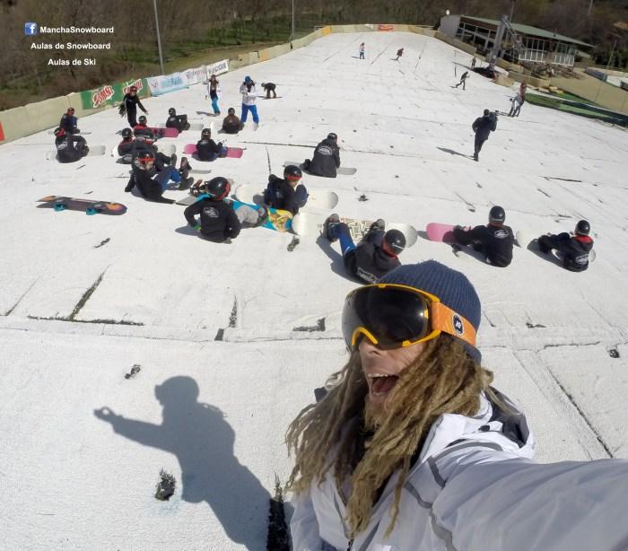 aulas mancha snowboard ski esqui verão inverno dry slope manteigas serra estrela