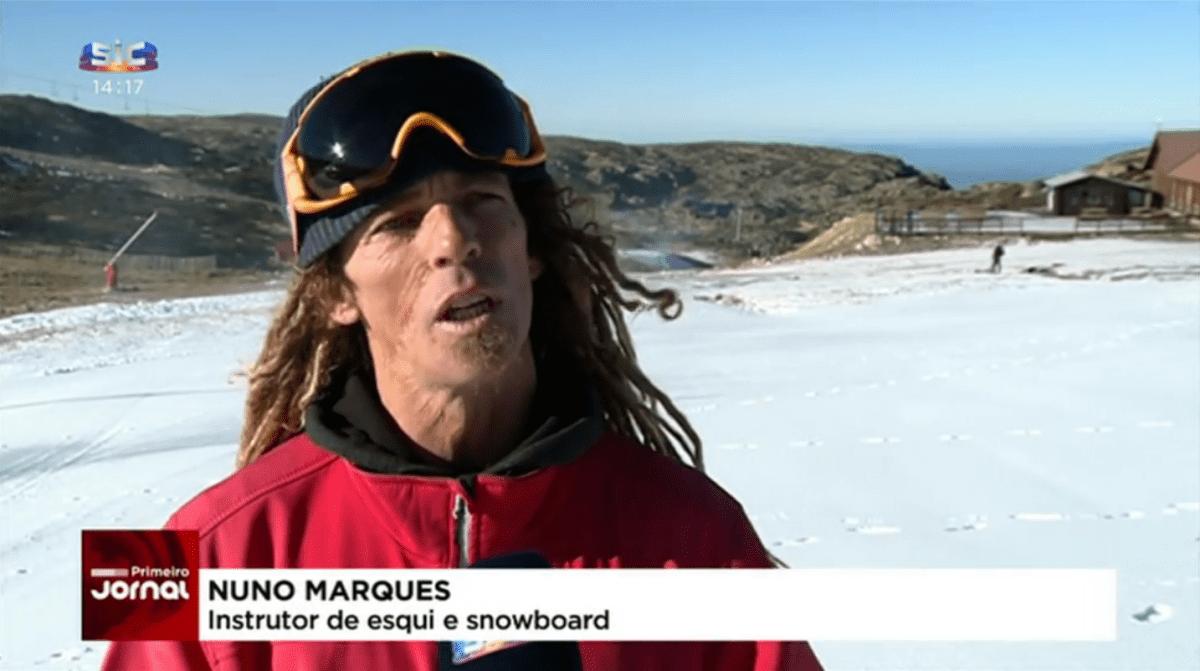 sic noticias 10.1.2019 entrevista estância ski esqui serra estrela mancha