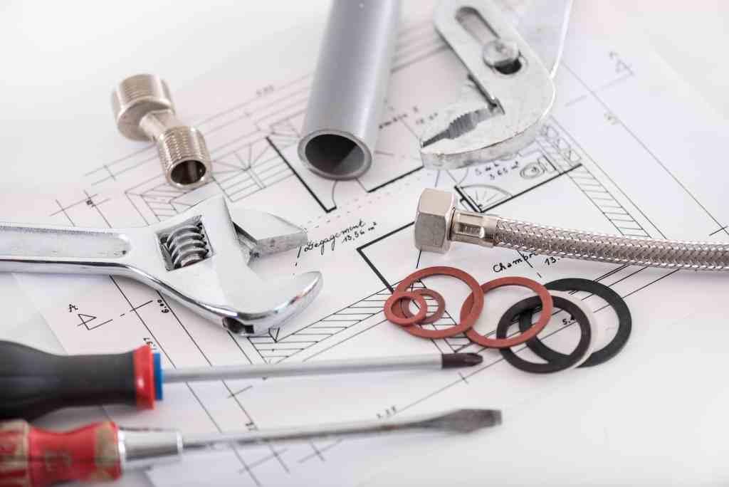 Set of plumbing materials
