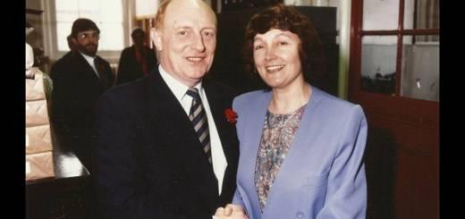 Neil Kinnock and Kath Fry 1992