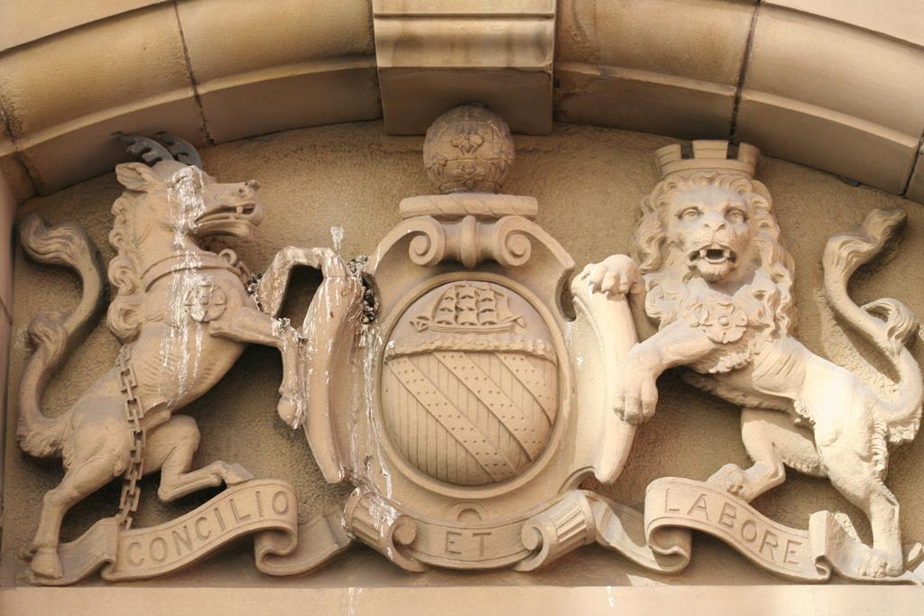 Coat of Arms Bees - Manchester City Council 02