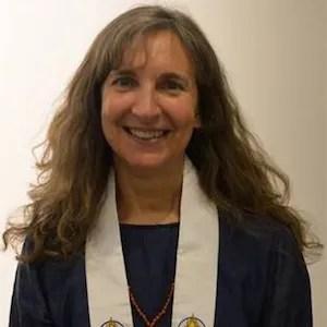 Woman meditation teacher