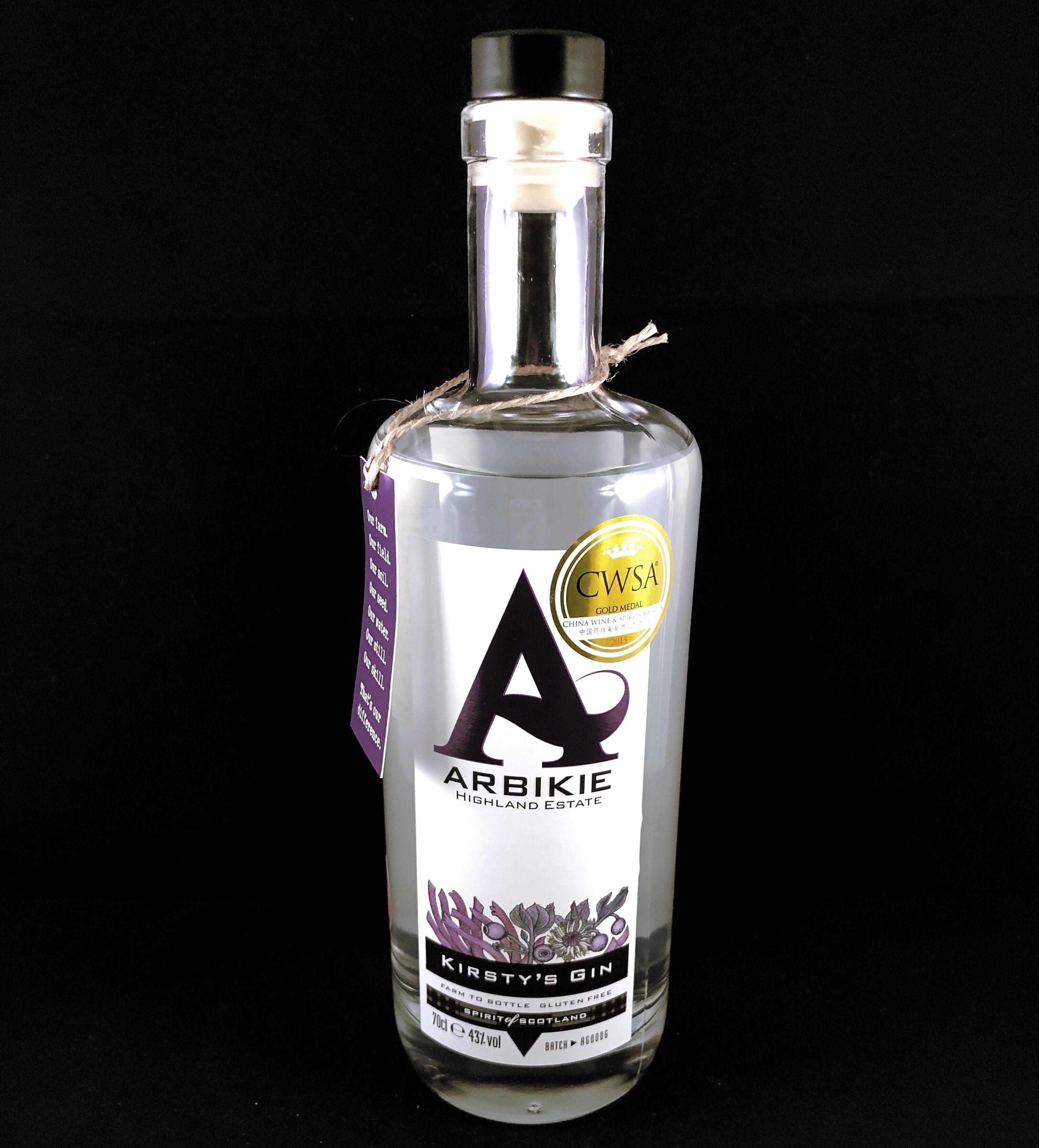 Gin Review – Arbikie Gin #ScottishGin