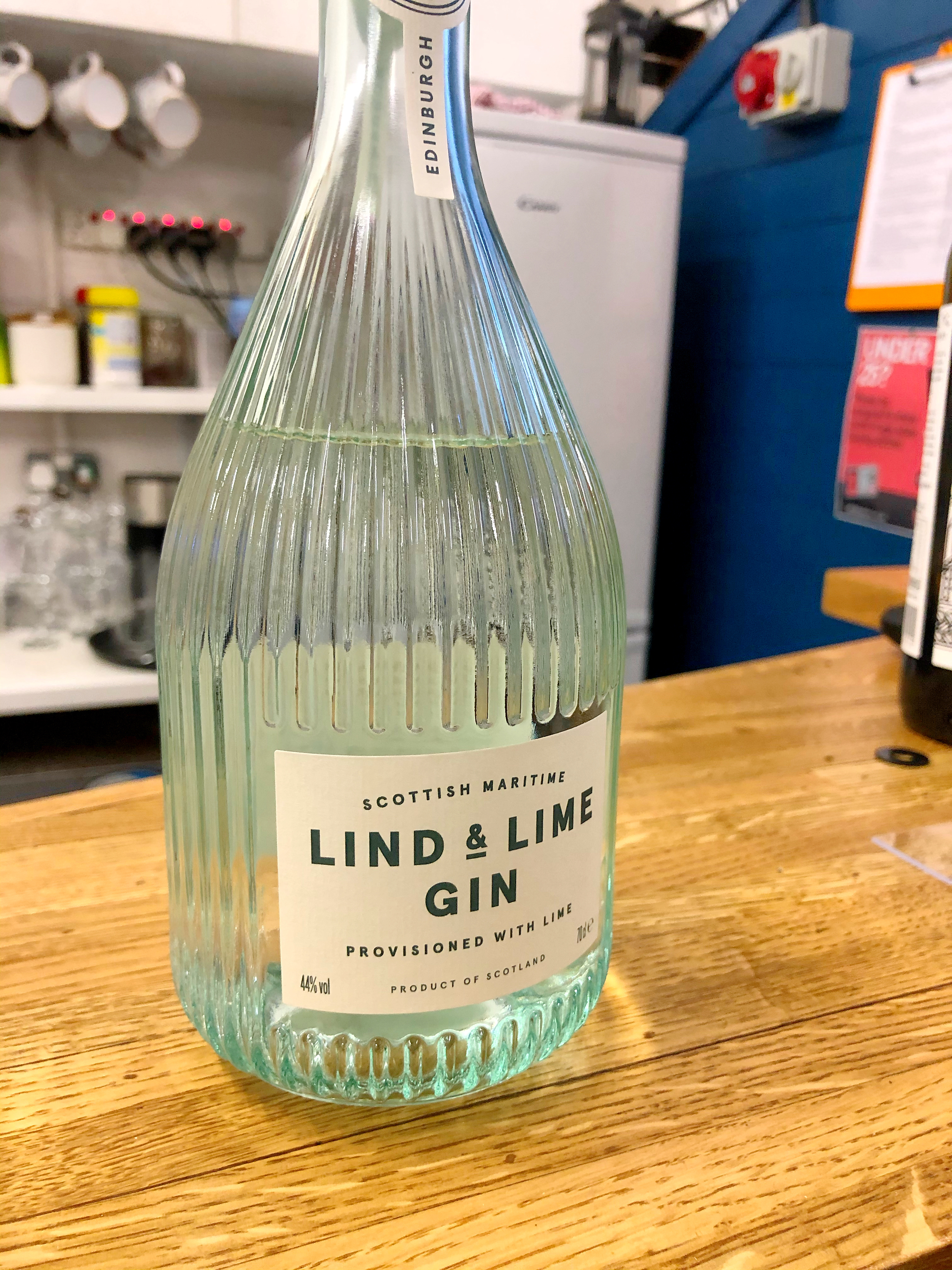 Port of Leith Distillery Tour:- Lind and Lime Gin