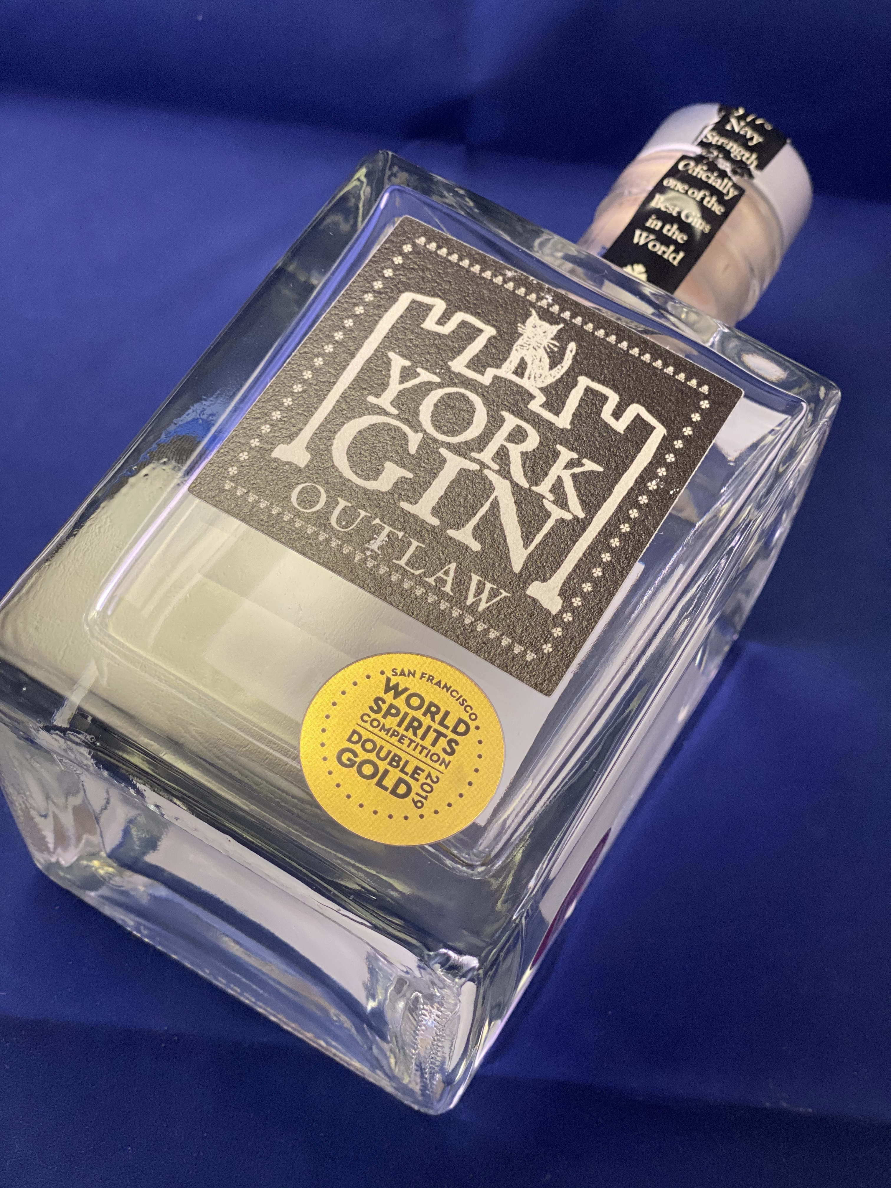 Gin of the Month – York Gin Navy Strength