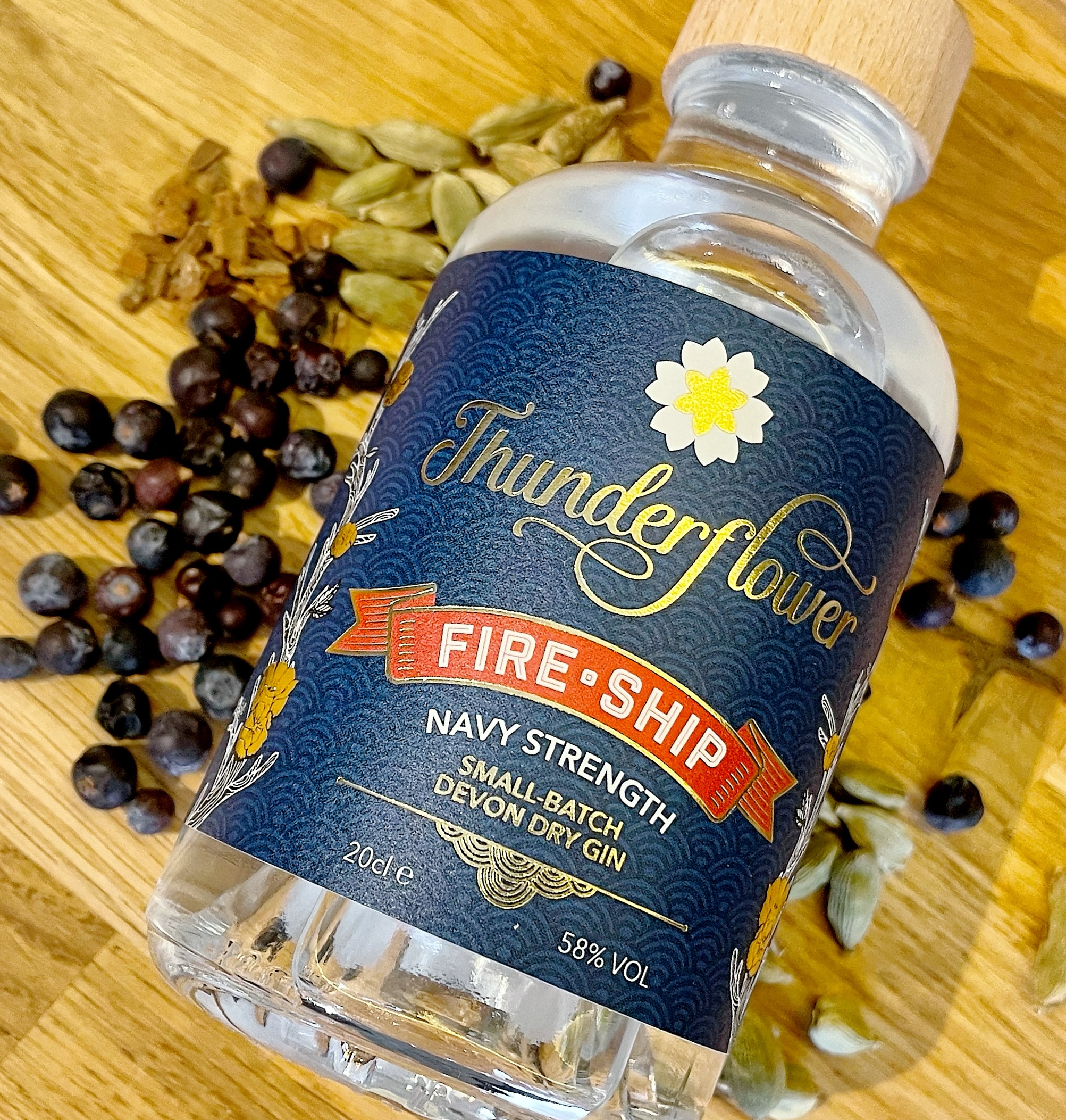 Gin Review – Thunderflower Fire Ship 58