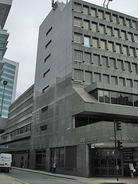 Maple House Tottenham Court Road