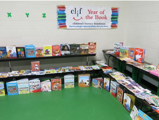 Year of the Book will include author visits and books for all.