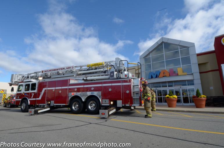 Mall of NH evacuation.