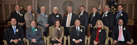 Board of Aldermen, class of 2014-2015.