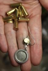 Michelle Erdman likes the detail of the bullet caps.