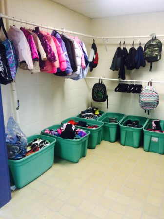Coast, boots, backpacks and more have been donated for kids in need.