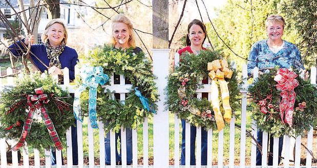 Wreaths for sale by Manchester Garden Club. Order deadline: Nov. 21.