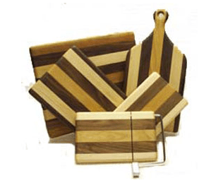 Knot Again handcrafted cutting boards, from Kingston, NH.