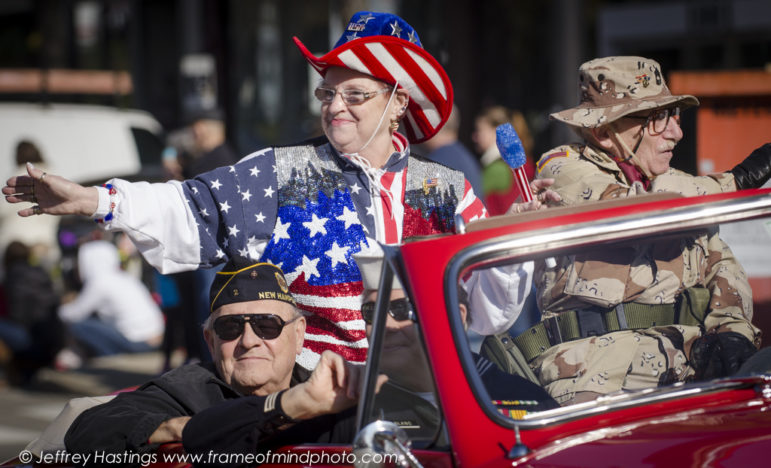 Veterans Day Parade, Manchester NH 2014