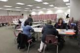 Voters register Ward 3.